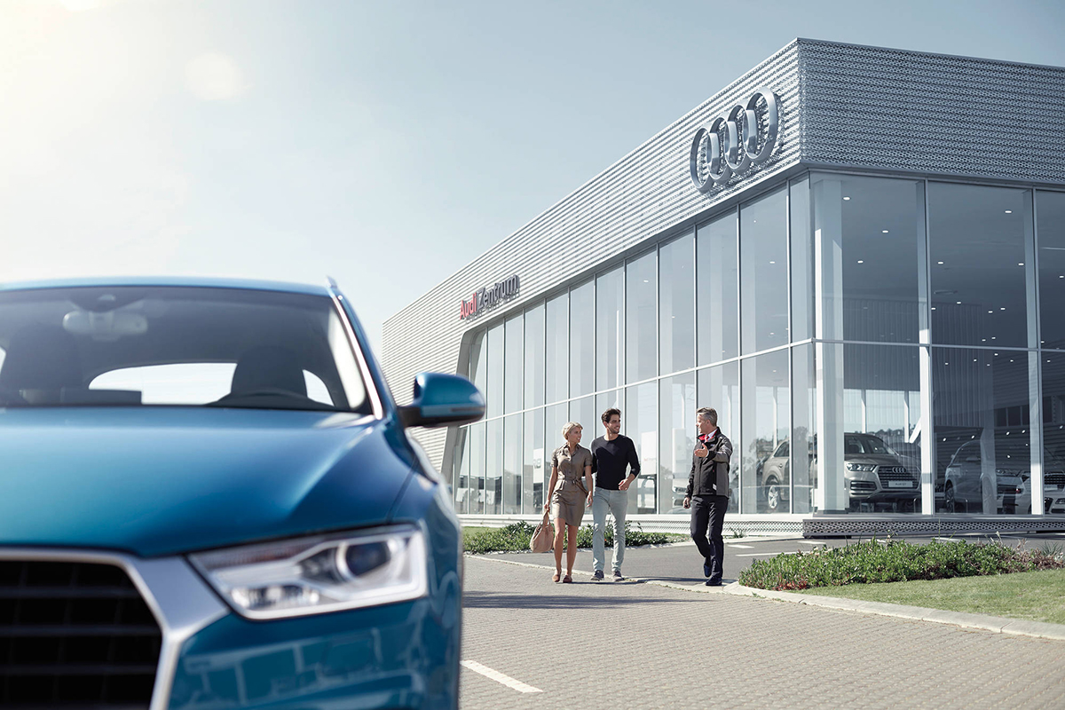 Audi apprenticeships dealership
