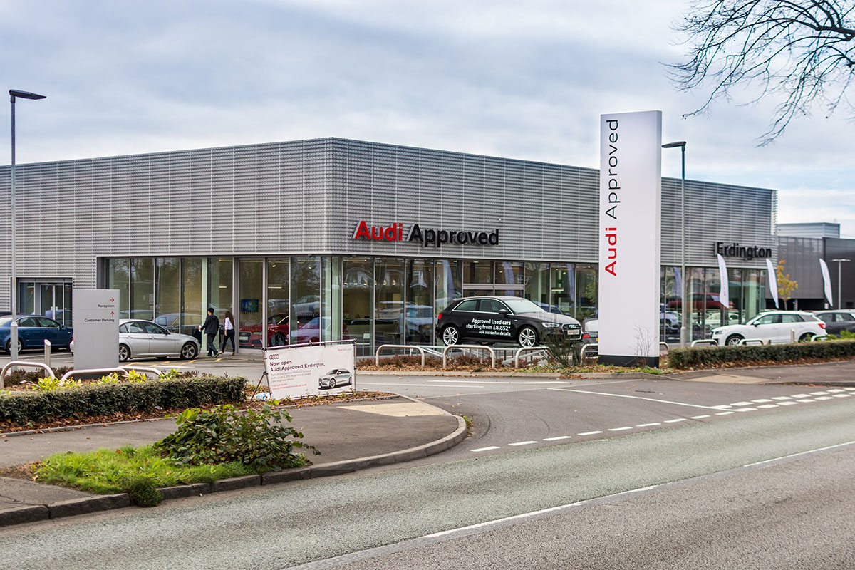 Audi Erdington Dealership
